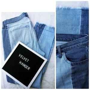 GAP Jeans - Gap UNIQUE denim striped 32 Tall Real Straight leg